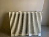 cast iron radiator painted ral 1013