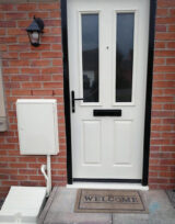 oyster white colour front door ral 1013