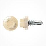 painted screws ral-1014 ivory metal paint