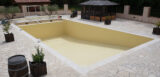 ral-1014 ivory swimming pool wall paint