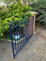 blue colour fence ral-5011