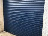 metal door painted ral5011