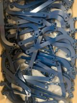 steel blue spraypainted parts ral 5011 colour
