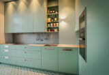 pale green kitchen colour from RAL