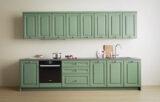 ral-6021 kitchen