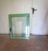 window frame colour RAL pale green 6021