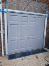 ral 7001 garage door
