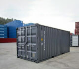 slate grey colour RAL-7015 shipping container