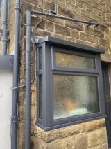 window frame RAL7015 colour