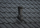 RAL-7021 roof tiles