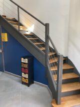 staircase colour umbra ral7022