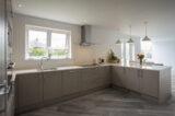 grey kitchen ral-7030