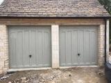 double garage door colour ral-7032