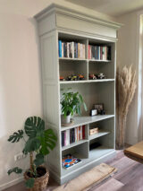 pebble grey bookshelf ral-7032