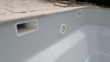 light grey swimming pool wall paint