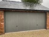 metal garage door ral7037 paint