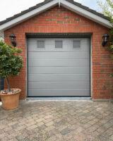 ral-7037 garage door colour