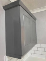 ral colour dusty grey kitchen