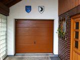 garage door painted RAL 8003 clay