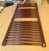 chocolate brown towel radiator ral-8017