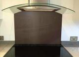 glass wall chocolate brown ral-8017