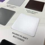 RAL-9003 colour sample