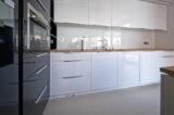 RAL-9003 kitchen