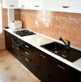 ral 9004 black kitchen glossy finish