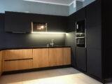 ral 9004 signal black kitchen
