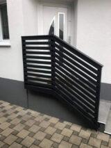 handrail ral colour jet black 9005