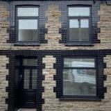 jet black facade paint RAL-9005