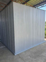steel shed ral 9006-colour
