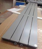 White aluminium radiator RAL 9006