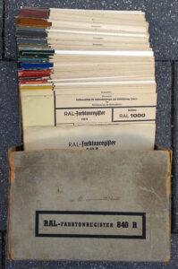 RAL-840-R Colour Chart